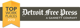 CSI was voted one of the top places to work in 2013 by the Detroit Free Press