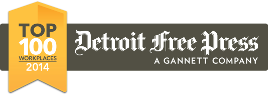 CSI was voted one of the top places to work in 2014 by the Detroit Free Press